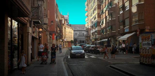 Calle Colón a las 20:00 horas, 2012 (cc) Abbé Nozal