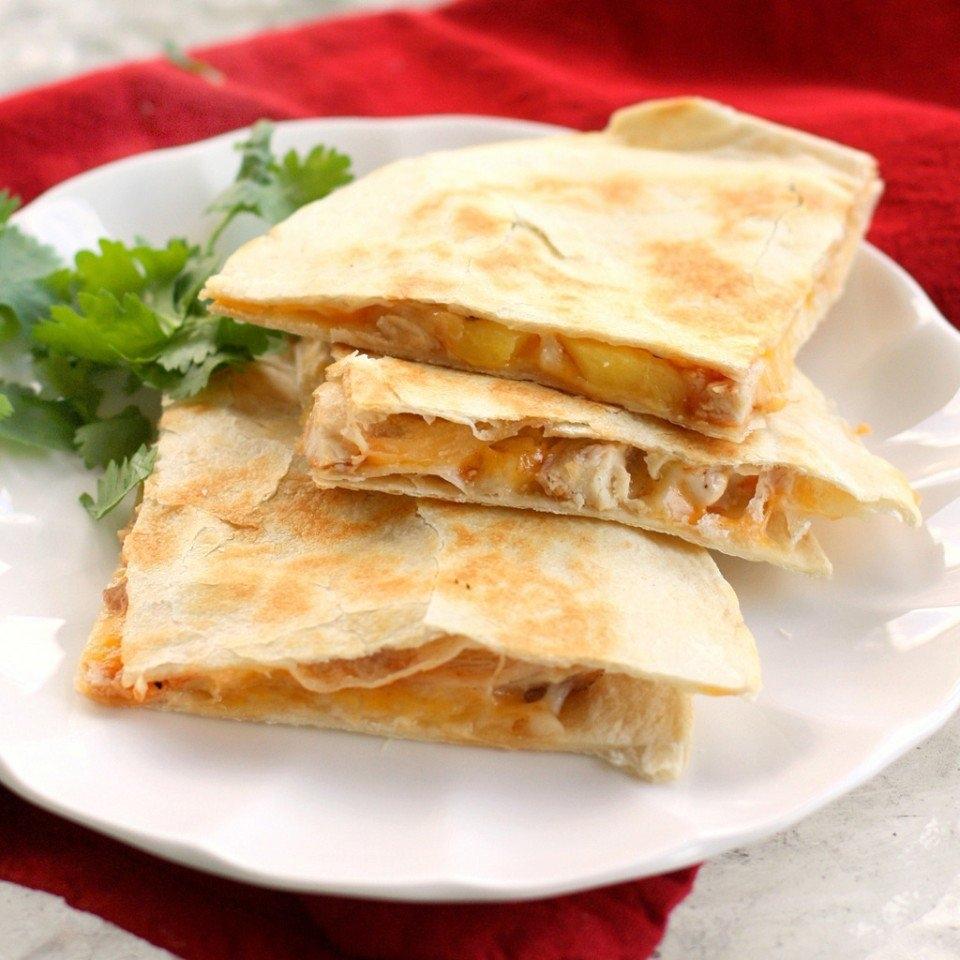 Кесадилья с курицей и сыром пошаговый рецепт