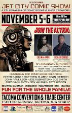 Jet City Comic Show November 5-6, 2016