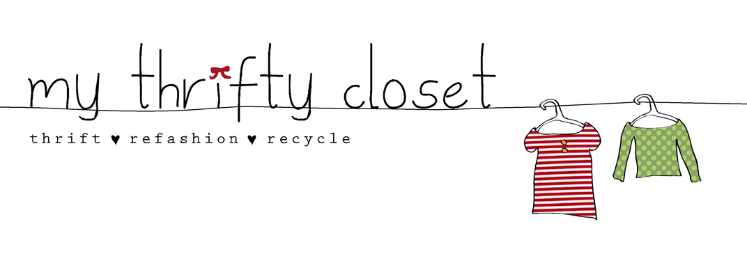 my thrifty closet