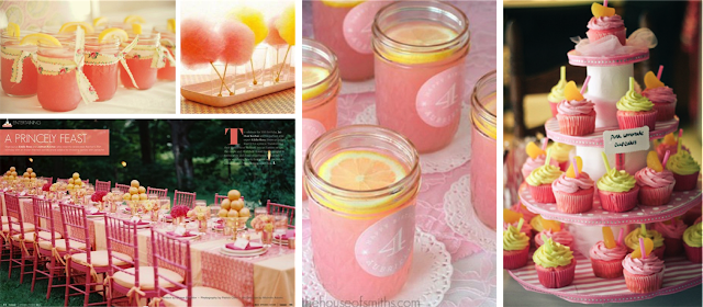 Detalles limonada rosa
