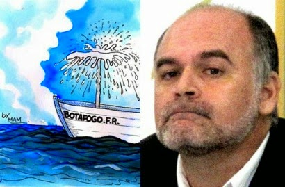 O presidente do Botafogo, Maurício Assumpção, virou um gaguinho parlapatão e sonegador confesso