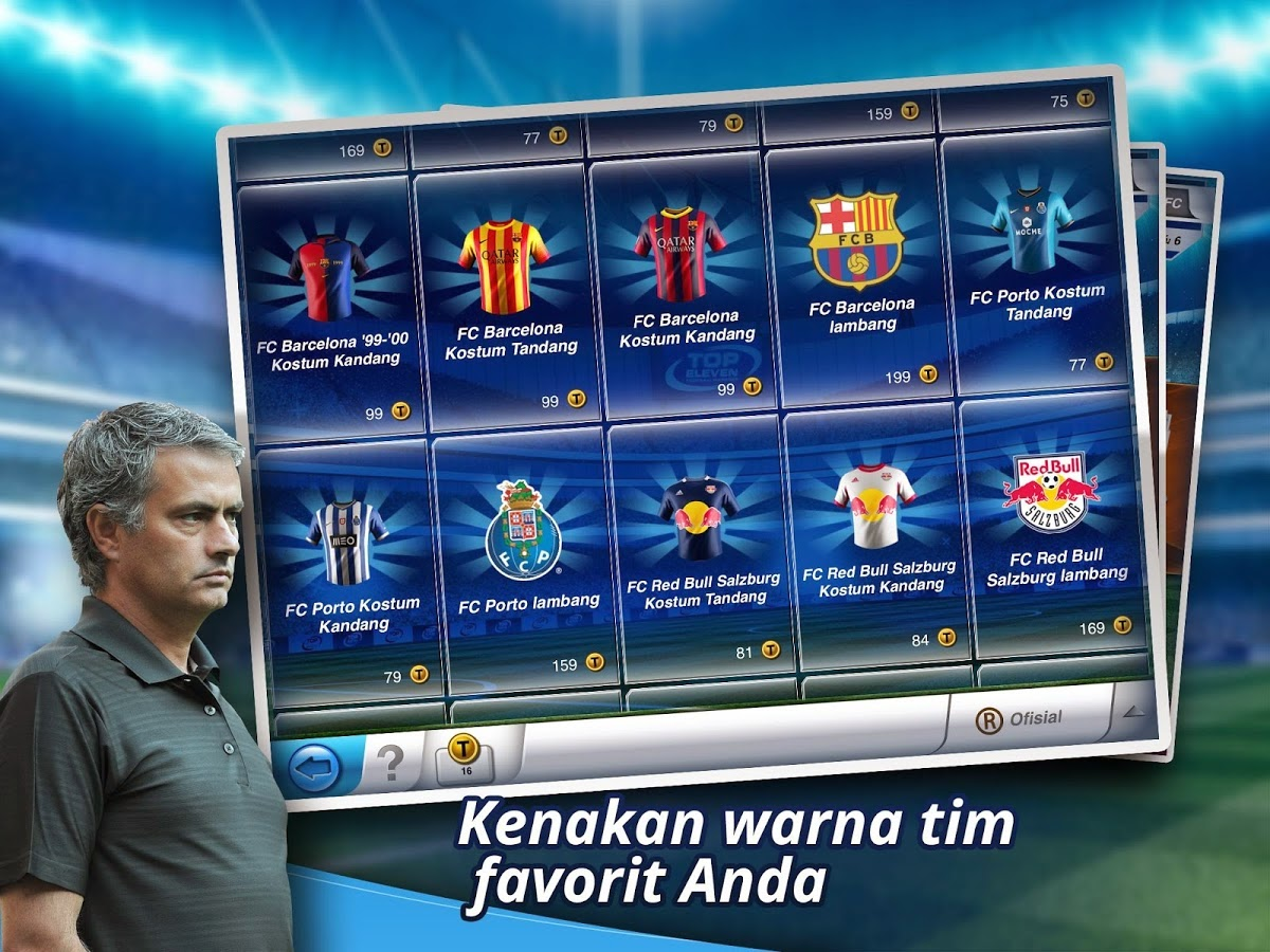 Download Games Android Top Eleven Manager Football Terbaru Asik - 2