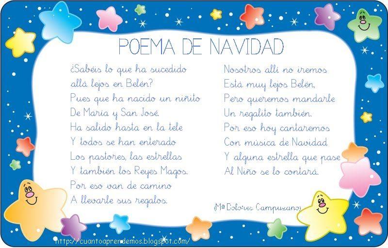 Poemas De Navidad En Espanol