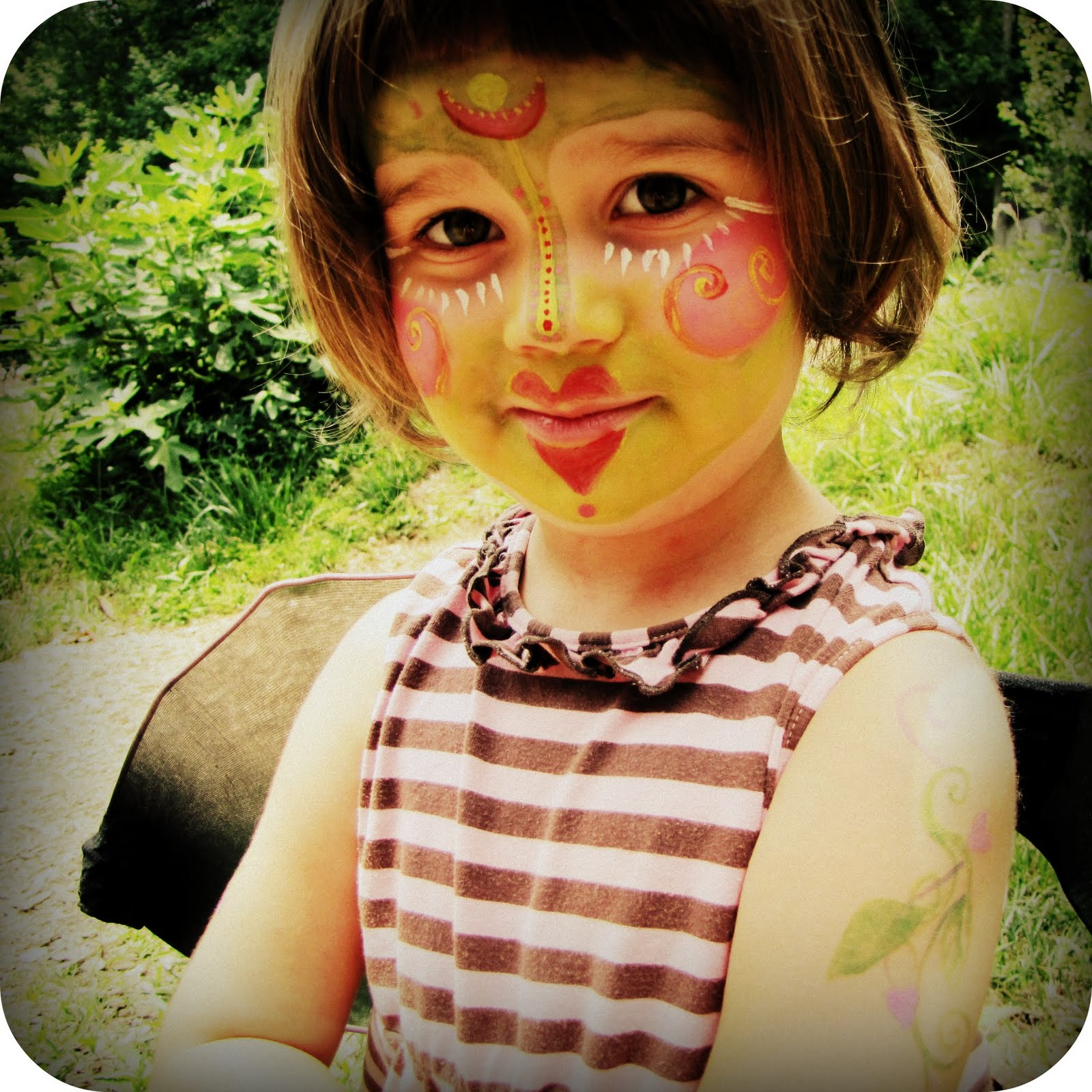 Sweet Mess: fairy face paint