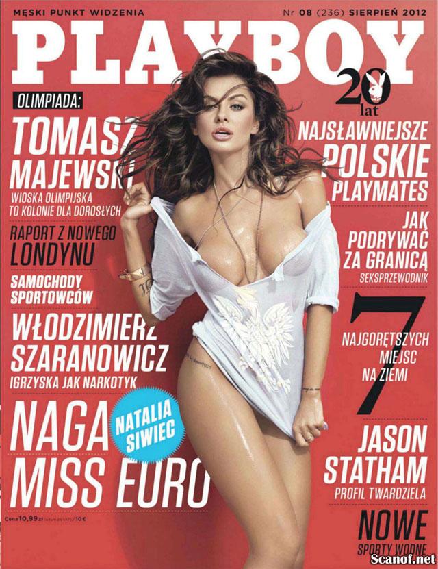 Mister Chicas Natalie Siwiec Desnuda Para Playboy La Novia De