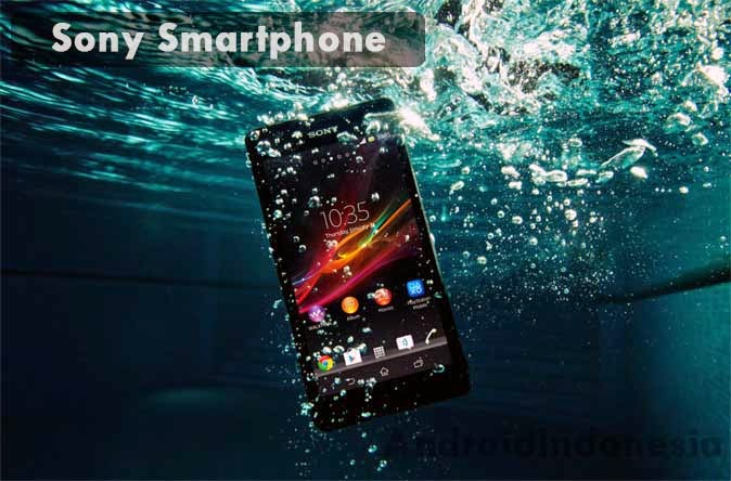 Sony Smartphone Waterproof