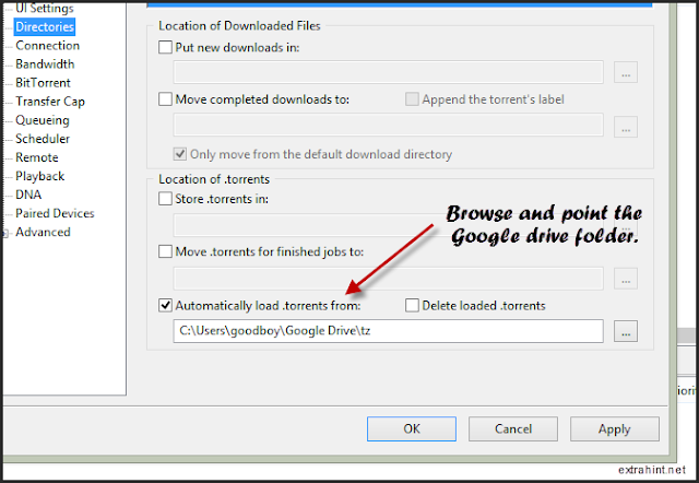 Customize the utorrent application