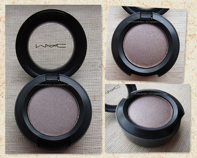 Cotton Candy Blog: MAC Satin Taupe Eyeshadow, Swatches and Review