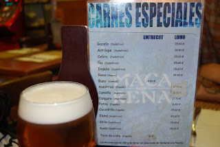 carta carnes exoticas bar macarena vallecas madrid