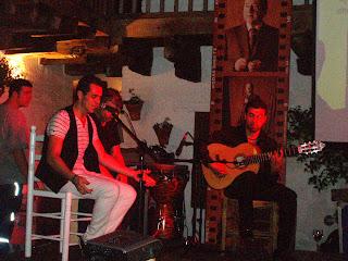 Compañía de Nacho Marroco en el C. Flamenco Fosforito. 2012