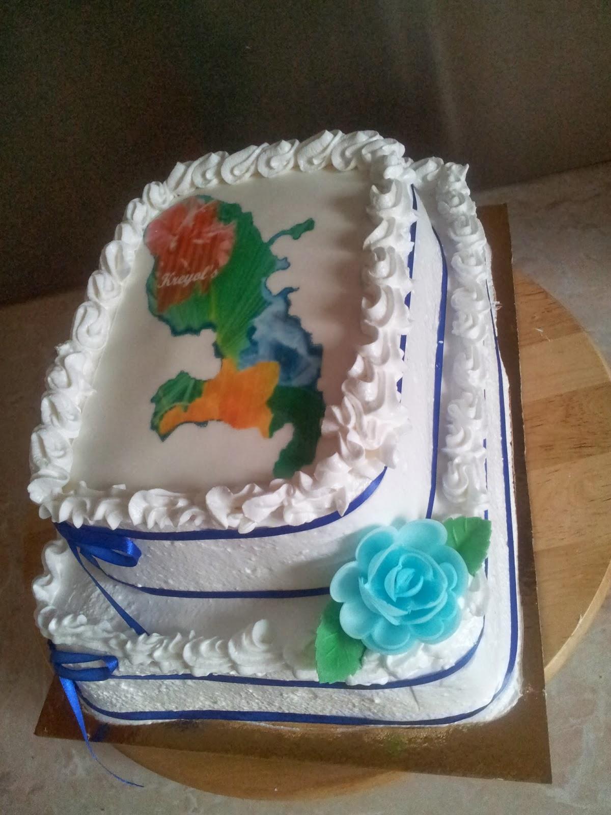 La Pâtisserie de Brunette: Gâteau antillais carte de la martinique