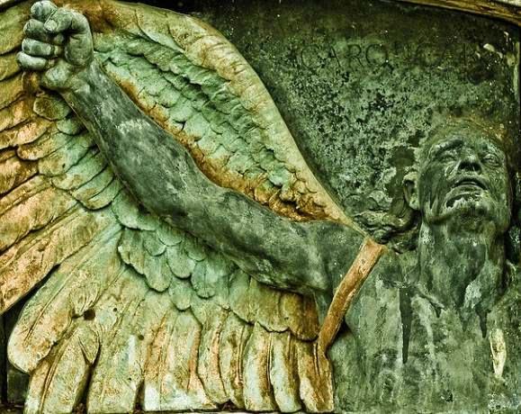 Icaro Monumento funebre dal Cimitero di San Michele a Venezia