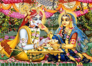 Remembering Radha Krishn through their Divine names - by Swami Nikhilanand