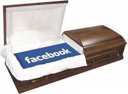 фото Facebook в гробу