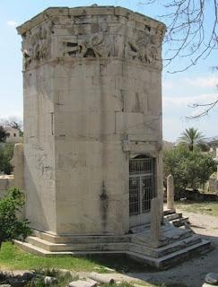 La Torre de los Vientos. La ciudad de Atenas