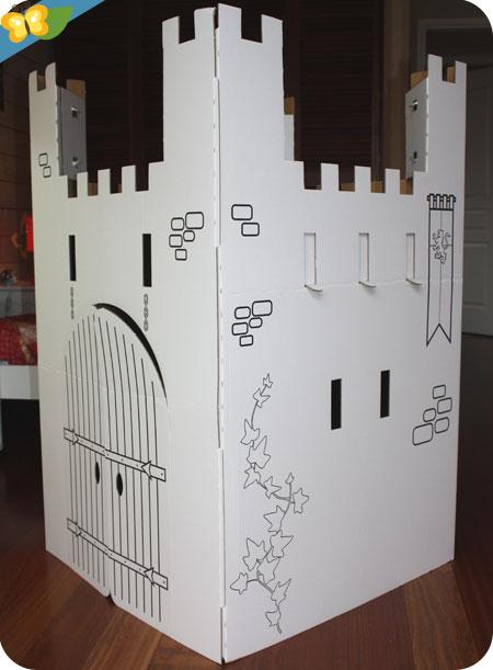 Château fort en carton personnalisable Wiplii