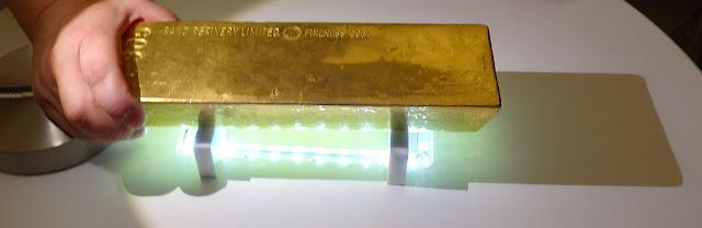 Sztaba złota 12 kilogramów