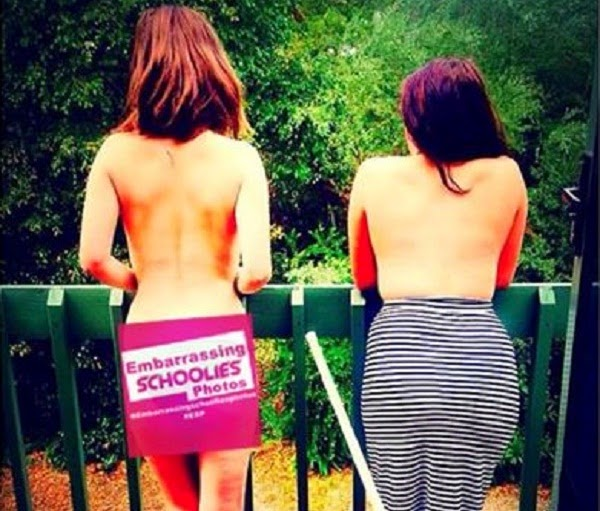 Embarrassing Schoolies Photos on Social Media