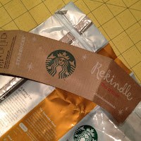 re-purposing a Starbucks coffee bag