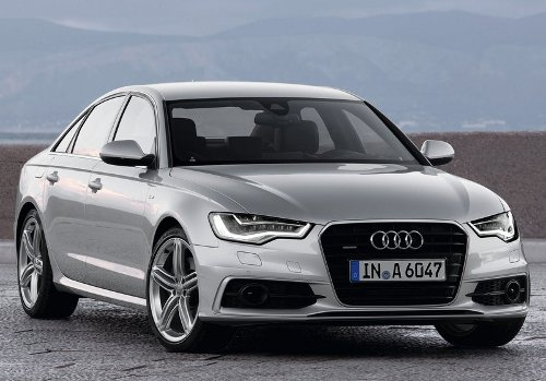 1 of 7 - 2012 Audi A6 Front Angle Pictures
