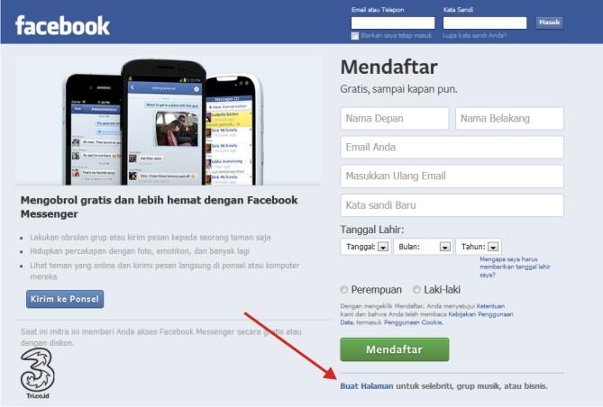 Cara Bikin Halaman Facebook