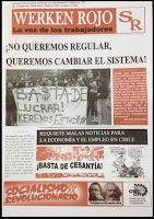 Periódico Werken Rojo N° 4. La voz de los Trabajadores