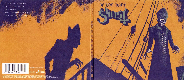 A Inspiração de clássicos do cinema nas capas da banda Ghost