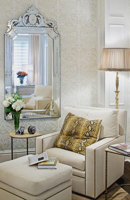 Image Result For Venetian Mirrored Bedroom