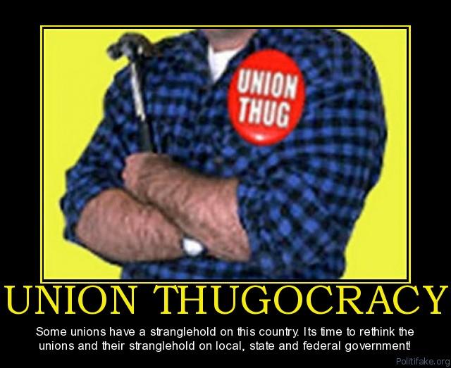 Union thugs