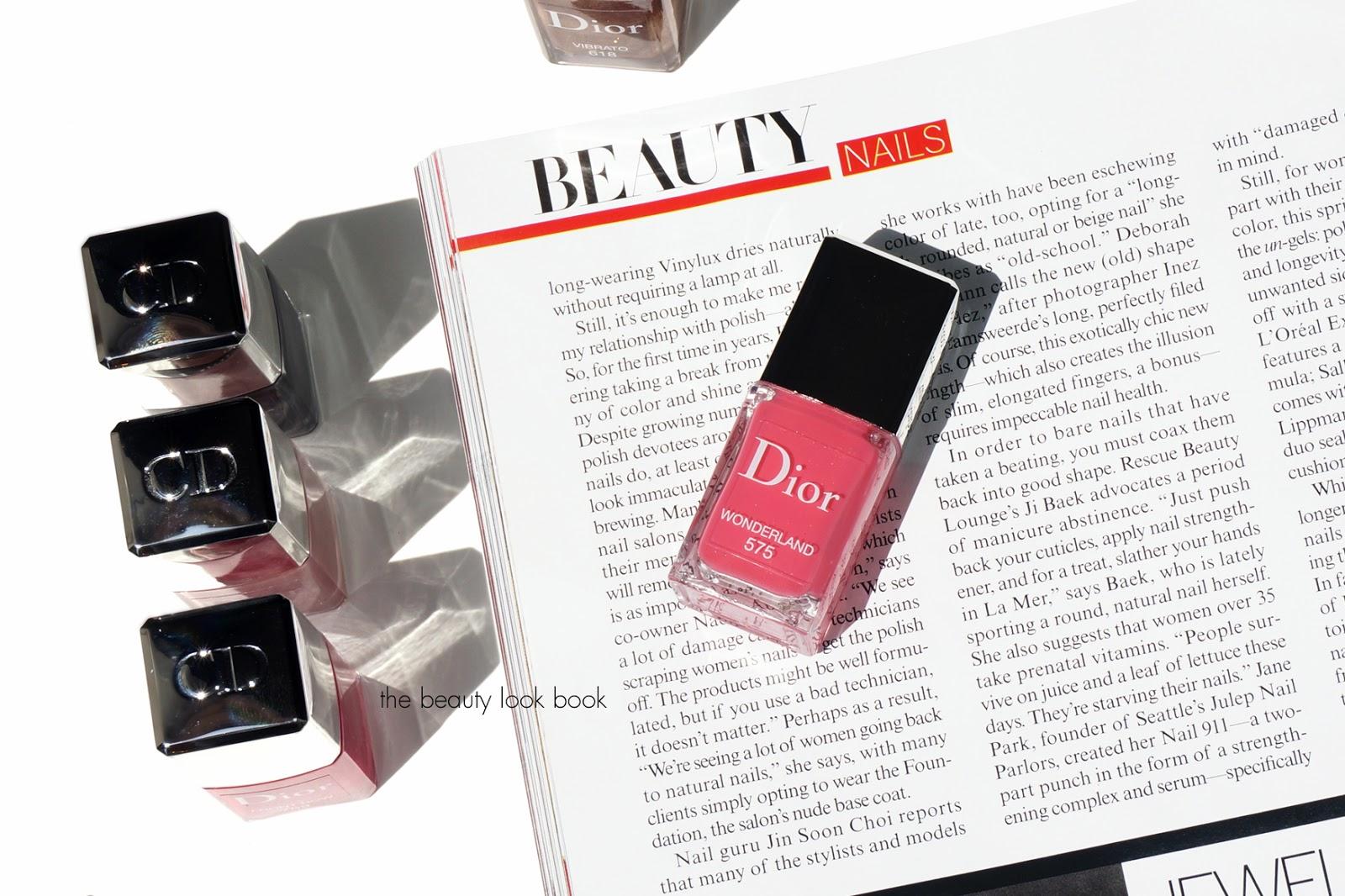 Dior Wonderland #575 Vernis Gel Shine Nail Lacquer