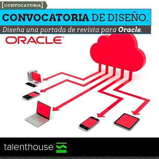 Convocatoria de Diseño. Diseña una portada para Oracle.