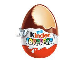 Huevo Kinder es algo mas que una sorpresa....