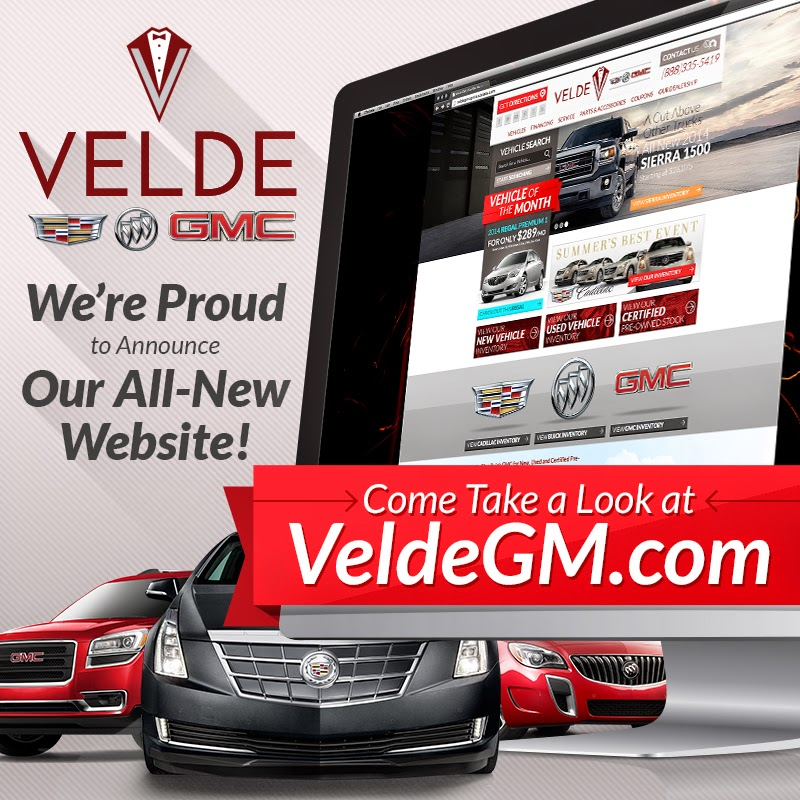 All-New VeldeGM.com Website is Now LIVE!