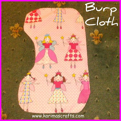 burp cloth tutorial muslim blog
