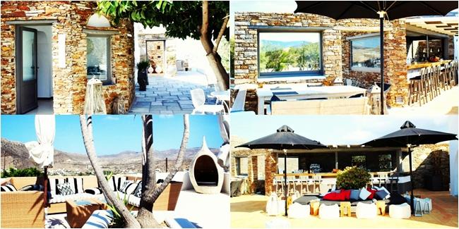 "Instagram @lelazivanovic. ""Liostasi hotel & spa"" pool bar. ""Liostasi hotel & spa"" exterior look.Luxury hotels in Ios."