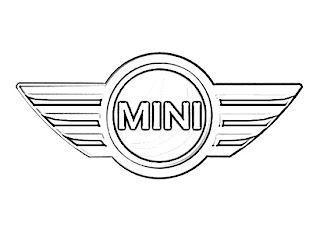 BMW Mini Logo Sketch
