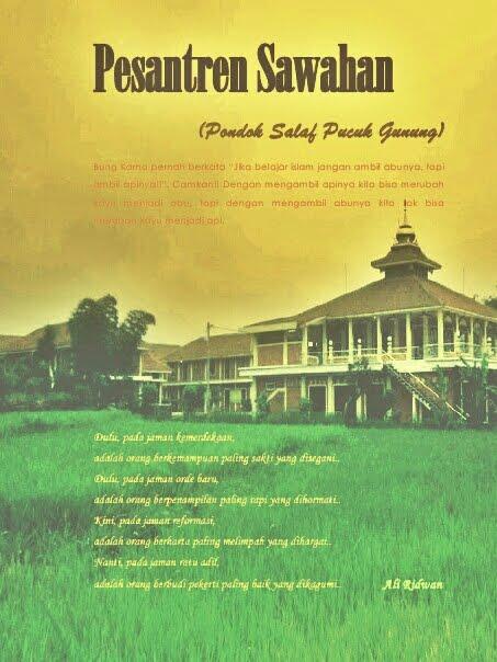 Novel: Pesantren Sawahan