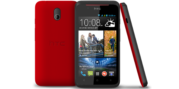 HTC Desire 210 red