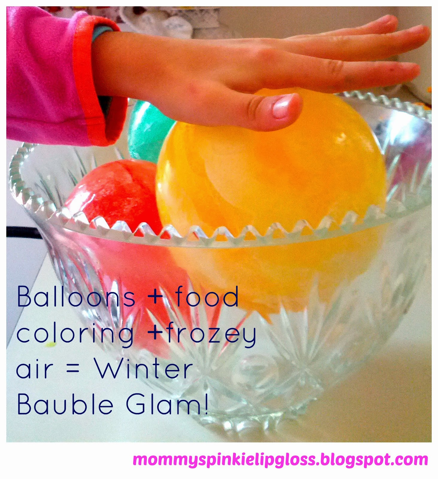 balloon crafts for winter time from MommysPinkieLipgloss.blogspot.com
