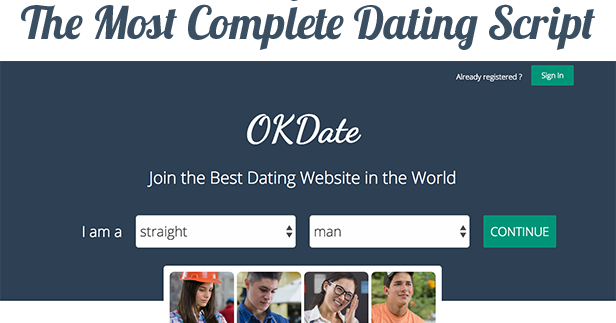 dating site website script editor Edit to your hearts content to create as : currently 500/5 rating: 50/5 (1 vote) please login to vote datecheer (badooclone) - dating website script.