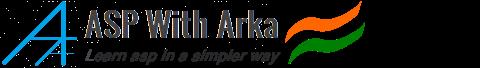 ASP With Arka | ASP.NET | C# |  SQL Server | JQuery | JavaScript | HTML | CSS | AJAX