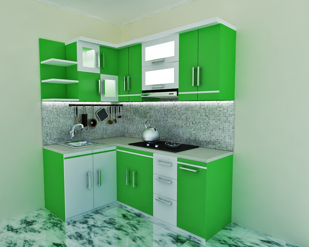 Kitchen set dapur kecil kitchen set minimalis di kota malang for Kitchen setting pictures