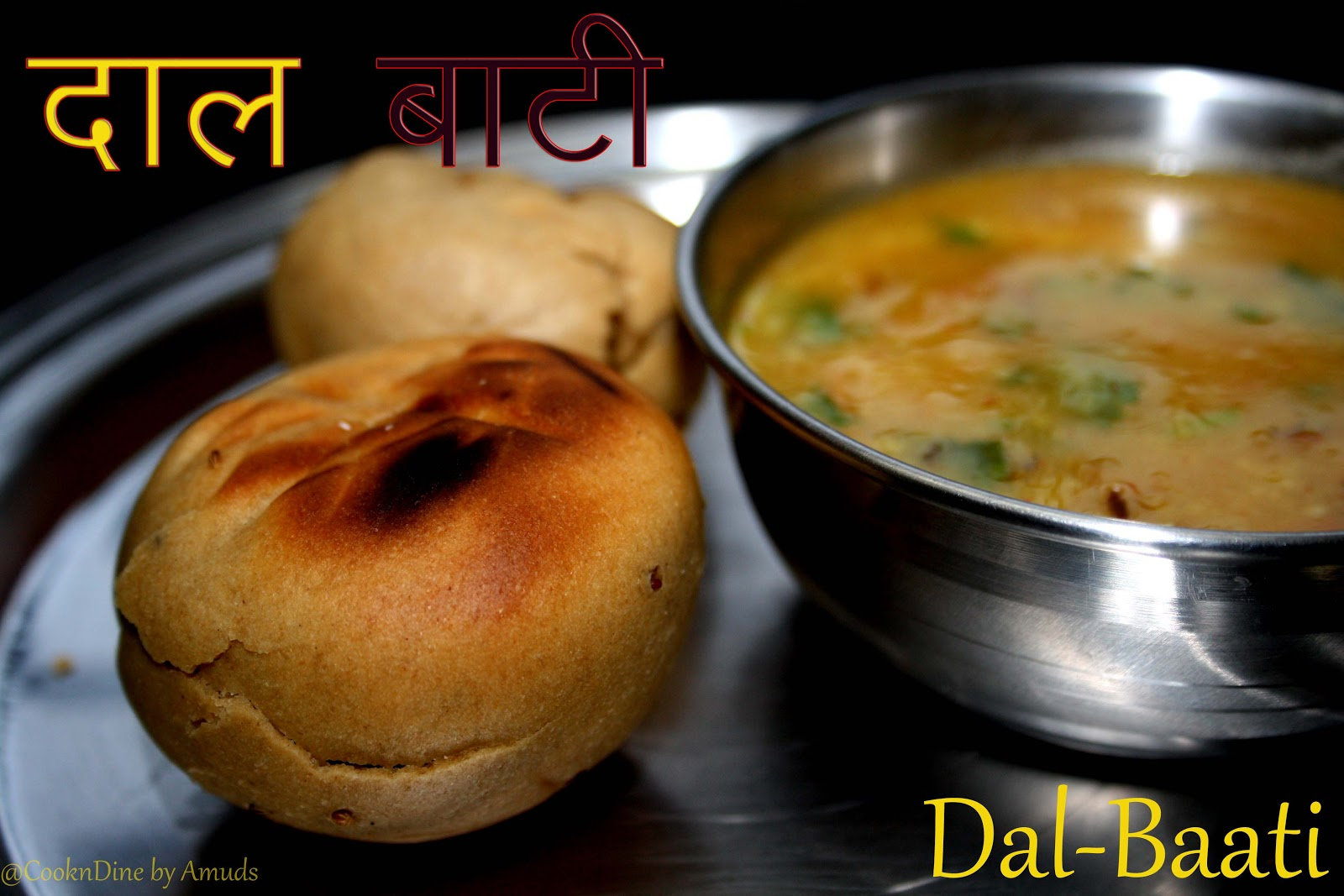 Cookndine dal baati rajasthani special for Cuisine names