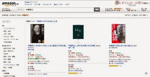 伊藤博文関連図書ーアマゾン