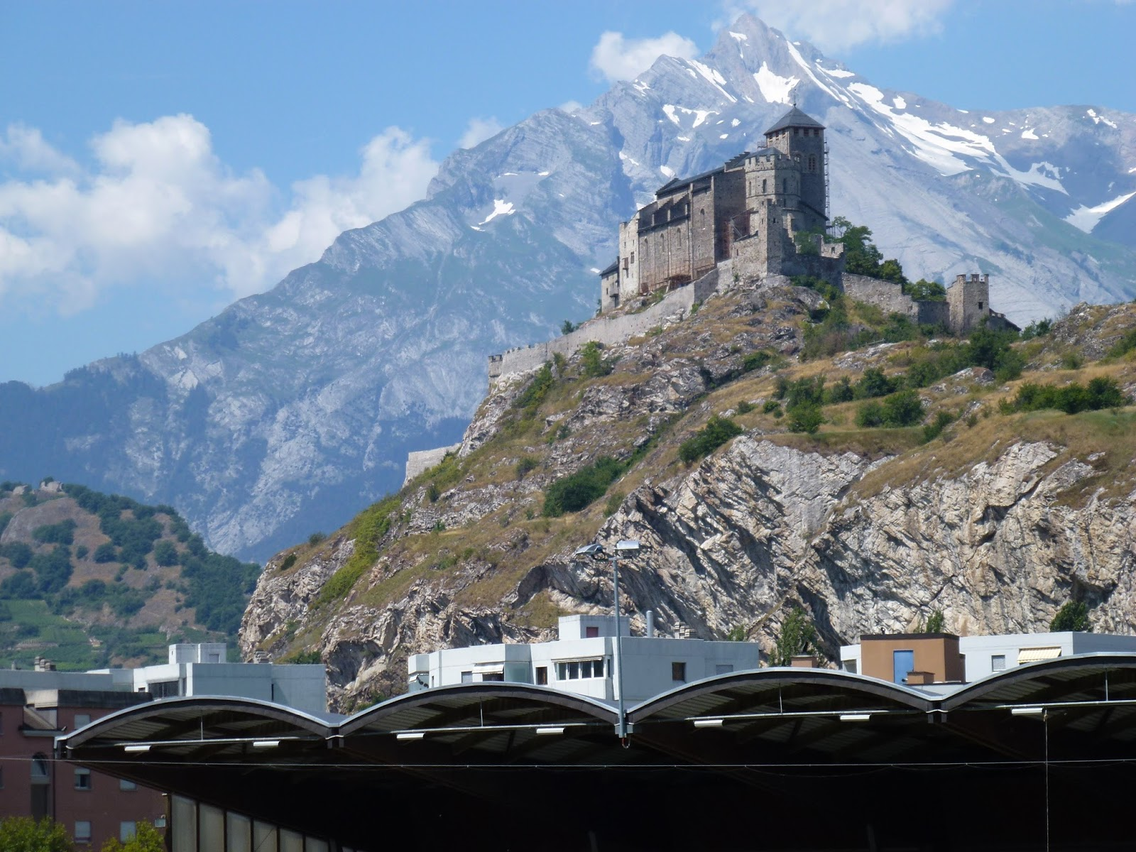 Sion Switzerland  city pictures gallery : tourbillon sion fc sion switzerland canton valais 21 vii 2013 fc sion ...
