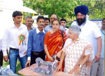 Delhi C.M Smt Shiela Dikshit's House Programme of KBSK