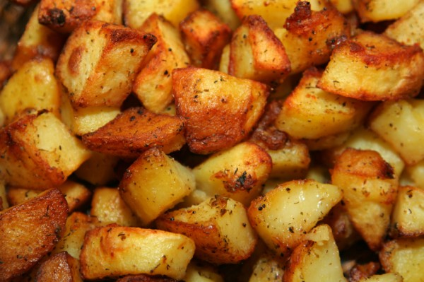 Insatiably Epicurious...: Twice Cooked Roasted New Potatoes