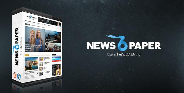 Download Newspaper v6.3.2 Responsive WordPress News Magazine Free