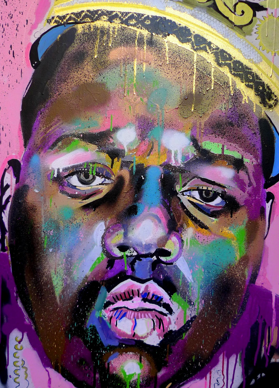 Biggie Painting Painting Of Biggie Cak...